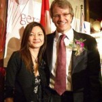 President Elsa Wong and MP Gerard Kennedy